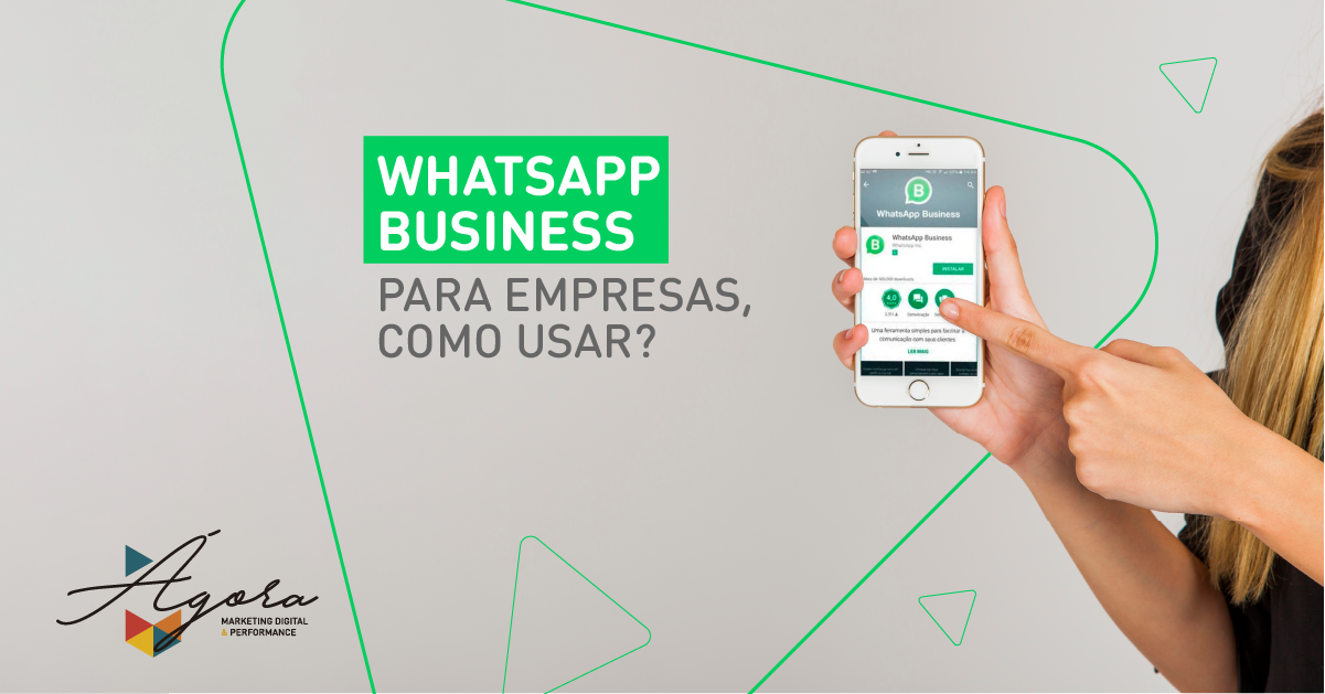 Whatsapp business para empresas, como usar?